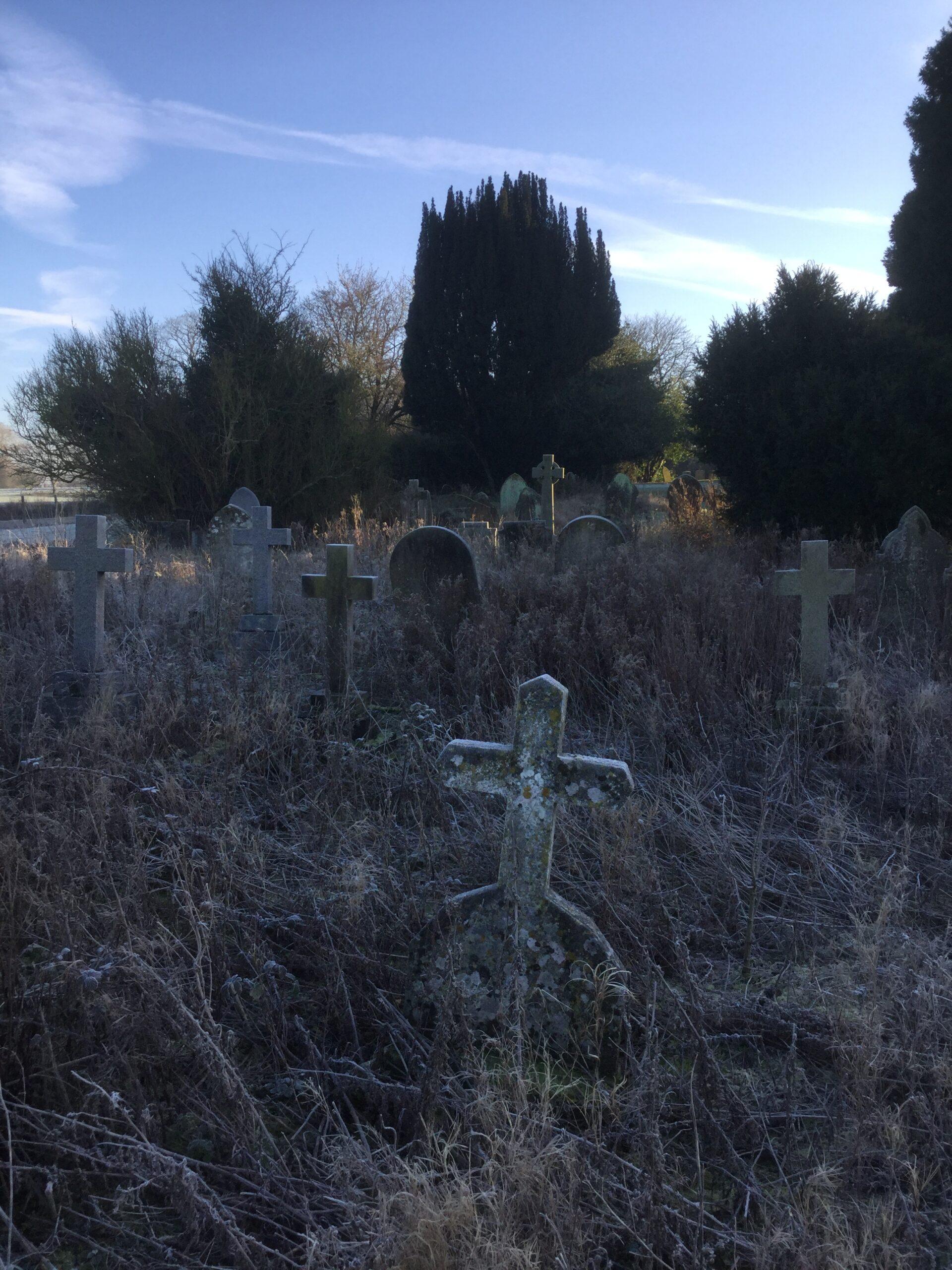 Older gravestones